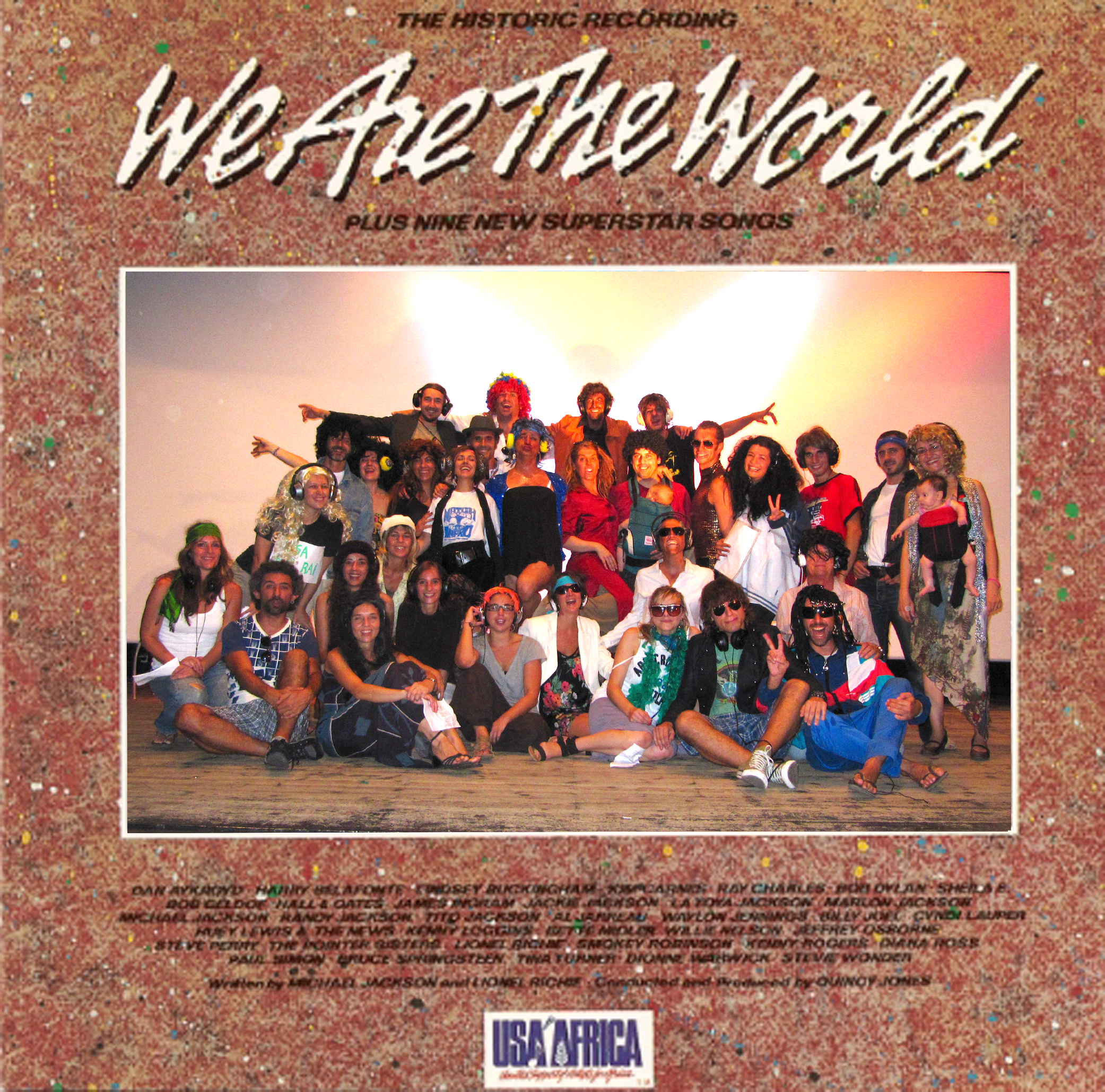 Making of we are the world | Regalavideos
