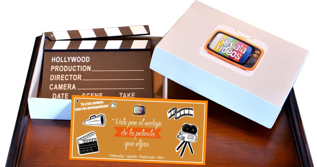 Caja regalo regalavideos for Oficinas la caixa mataro