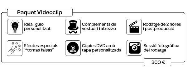 Pack Videoclip