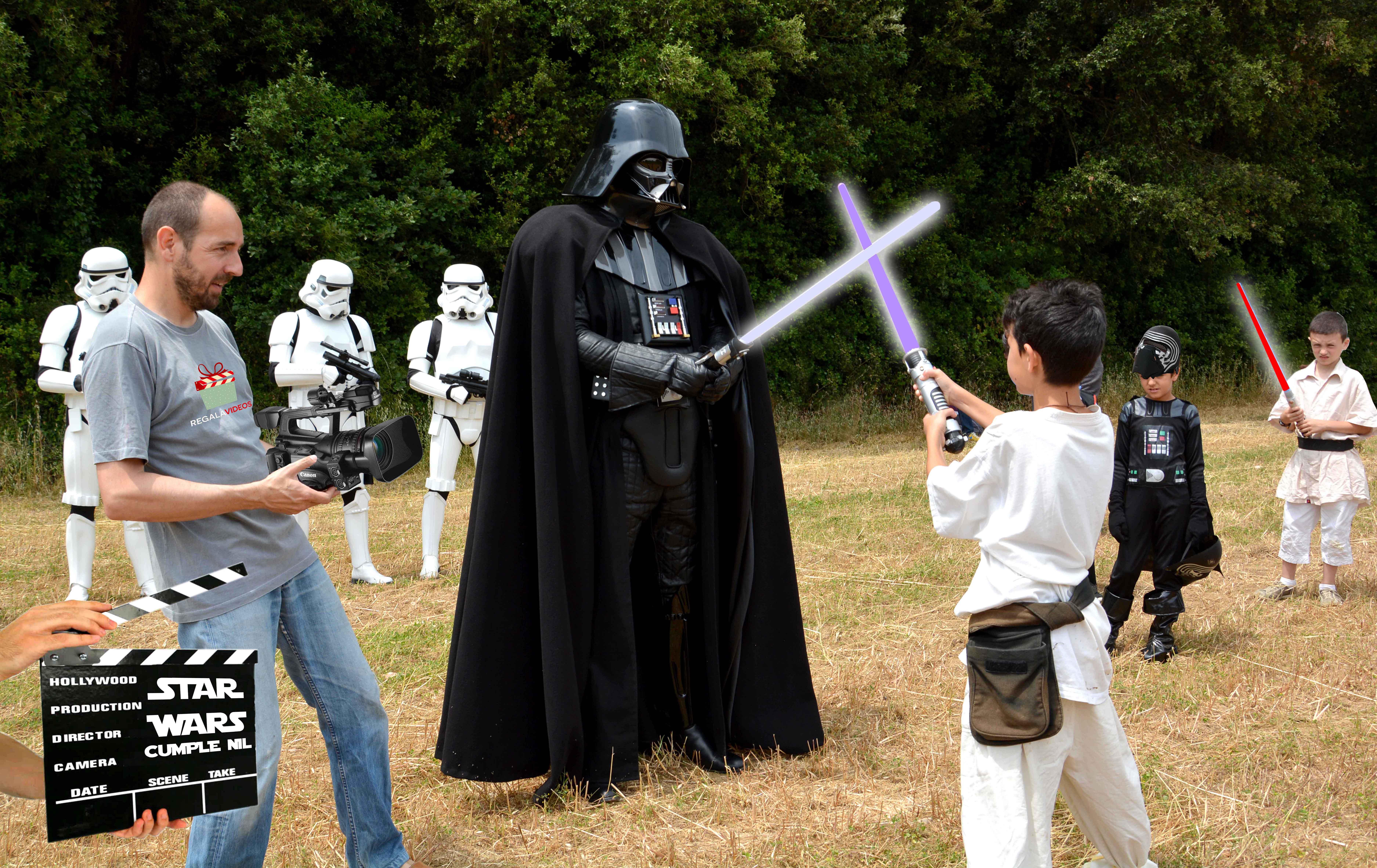 Star wars film regalavideos