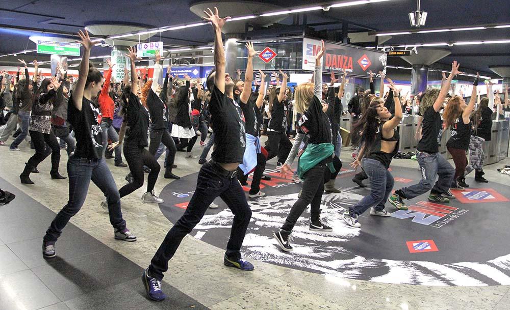 flash mob regalavideos